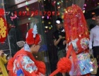 运城万荣县中式婚礼八抬花轿迎亲娶亲古典婚庆
