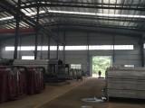 鋼材市場附近,標準鋼架結構廠房帶行車