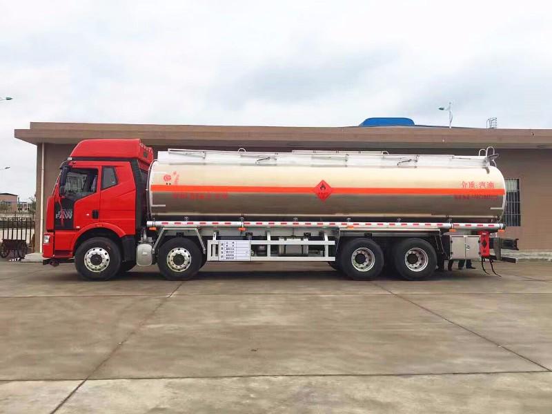 解放J6铝合金30吨运油车 急售