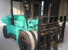 转让 工程车 公司低价出售二手大连8吨叉车,9成新