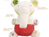 MaMaampPapa系列新生儿宝宝安抚玩偶大象毛绒玩具(内置摇