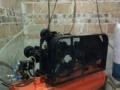 转让二相电3KW空压机及2吨可移动吊机