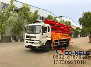 青岛品牌好的混凝土泵供销,山东泵车
