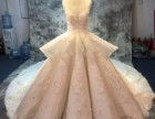 外贸婚纱礼服来图来样高级量身定制批发 广州婚纱礼服厂直营
