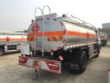 天津国五东风8吨加油车槽罐车可分期包上牌