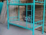 工地双层铁架床标准尺寸是多少广西哪里有工地高低床批发