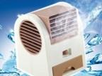 空调型香味风扇 香水座风扇 创意新奇特USB电池两用迷你风扇