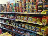 福州北街惠北巷云凤花苑西门临街营业中生活超市转让