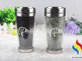 深圳厂家批发 变色礼品杯定制LOGO  双层不锈钢杯子 日用百货