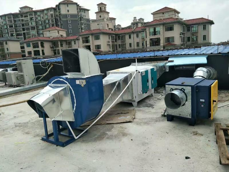 禅城区环保油烟净化器全面承接安装过环保检测油烟净化器