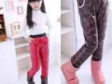 新款秋冬童裤 儿童羽绒裤批发 男童女童高腰加厚外穿百搭修身