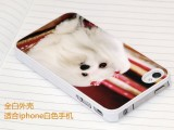 Iphone4S热转印手机壳皮革油手机壳磨砂热转印手机壳Ipho