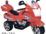 超酷警车带后车灯儿童电动摩托车  红/白/绿/黄四色
