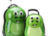 新款儿童卡通硬壳小学生幼儿园男女蛋壳双肩包拉杆箱
