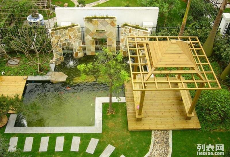 宁波花园设计,别墅庭院设计,屋顶花园设计,露台设计,施工等
