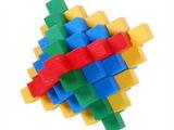 成人益智/解锁系列/厂家直销木制玩具批发孔明锁 彩色菠萝锁