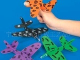 eva飞机,飞机玩具,组装玩具飞机