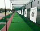 可定制!高尔夫球练习网 专业打击笼 挥杆练习器 配推杆果岭