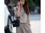 夏季新款韩国女装 时尚休闲 纯色单肩 收腰 女连体 宽松女短裤