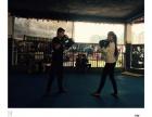 专业拳击泰拳自由搏击综合格斗女子防身成人散打少儿武术
