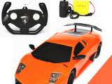 厂家直销全新升级版114超大带充电全比例遥控车 男孩玩具批发