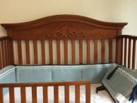 贝乐堡婴儿床送美亚海淘床垫