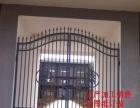 订做各种锌钢护栏护栏铁艺大门电动门pvc护栏欧式门