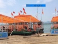 奉化莼湖出海捕鱼游玩政府小船