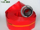 4寸建筑工程水带4寸涂塑水带禹泽水带厂批发直售
