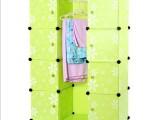 厂家直销 diy万能板拼装大衣柜 魔立方组合收纳柜 PP塑料魔片批发