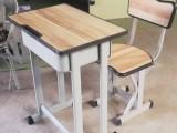 郑州市本地货源供应学生课桌 学??巫?单人桌椅 双人桌椅