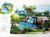 瑪雅教育 環藝建筑美術手繪班,景觀手繪,建筑水彩,建筑手繪班