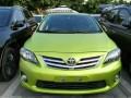 转让 轿车 丰田 卡罗拉 绿色版本 加微信 买车送油卡