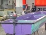 供应4.2米双层玻璃钢船,手划船,钓鱼船可挂船外机船用马达
