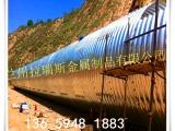 大量出售青海新品钢波纹管涵陕西直销钢波纹管涵厂家