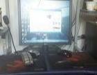 台式机,19寸显示器,独立显卡。1200