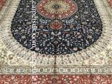 手工地毯- 100%真丝地毯 纯手工编织蚕丝地毯