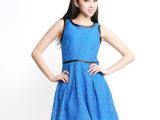 2014春装新款大码女装 韩版时尚胖mm显瘦蕾丝裙打底连衣裙代发