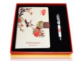 中国好礼物新款正品 中国风笔记本两件套 本子加笔组合 厂价直供