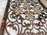 酒店大堂雕花不锈钢镂空屏风金属隔断材质讲解