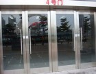 太原定做玫瑰金玻璃门和不锈钢玻璃门感应门