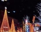 郑州专业圣诞树LED串灯装饰 亮化工程 霓虹灯工程