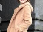 2012休闲时尚淑女双排扣圈圈呢大衣外套