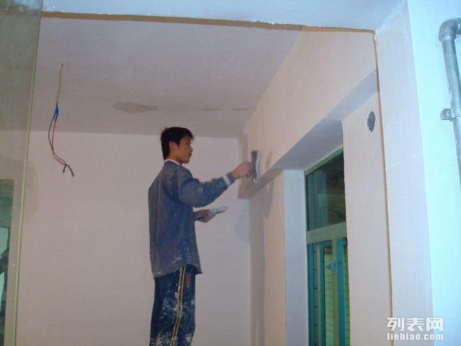 墙面粉刷修补 旧房二手房翻新 铲墙皮 刮腻子 刷漆
