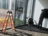 玻璃幕墻貼膜陽光房頂棚玻璃貼膜防曬太陽膜安裝
