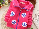 童装新品 14年冬季新款韩版童装 厂家直销大卫衣外套 女童外套