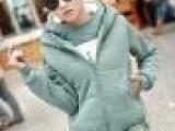 2013秋冬 卫衣三件套 大码卫衣 女 加厚大码韩版加绒休闲套装