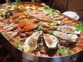 海鲜大咖加盟/蒸汽海鲜火锅烧烤/海鲜烤鱼大排档加盟