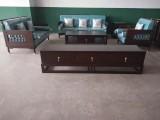 新中式金丝檀木123客厅组合沙发家具