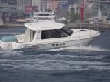 灵山兄弟8.6米家庭型游艇MR27游钓艇日式家庭游艇